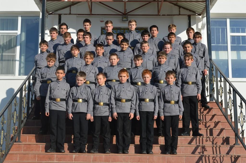 Воспитанники школы-пансиона